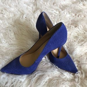 Sz 8 Brand New Vince Camuto Atlantic Blue Pumps